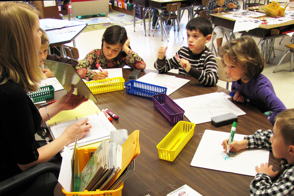 First grade reading - small group breakout | One of the smal… | Flickr