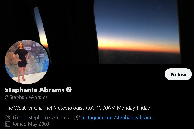 Stephanie Abrams - Weather Influencer