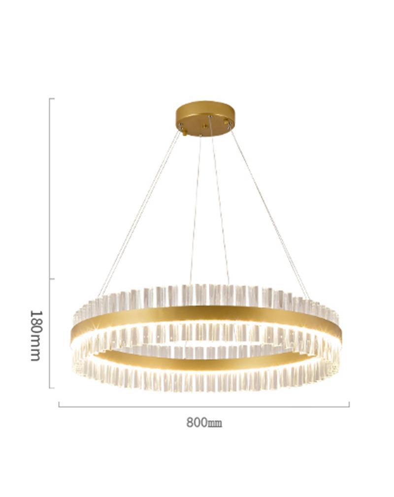 Đèn chùm hiện đại pha lê cao cấp GP098TT