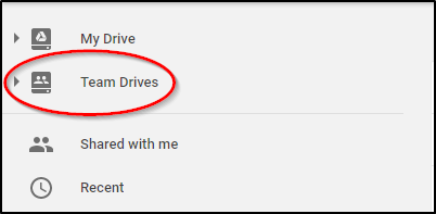 Google Drive Team Drives