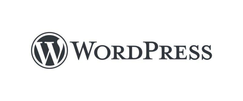 Logo of the WordPress