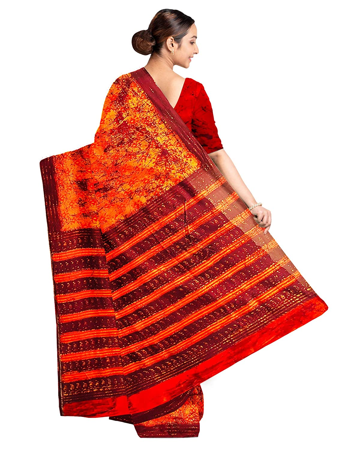 Batik Pure Chanderi Silk