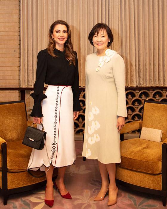 نتيجة بحث الصور عن الملكة رانيا سهاد خواجة
