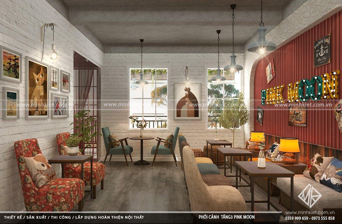 Thiết kế quán cafe độc đáo từ 300-500 triệuđẹp nhất 2021