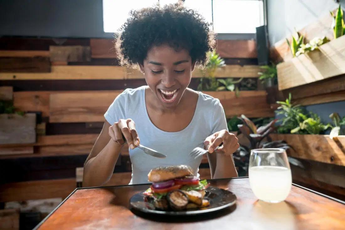 Avoid junks, eat healthily