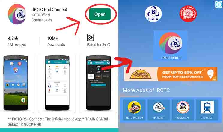 download irctc app