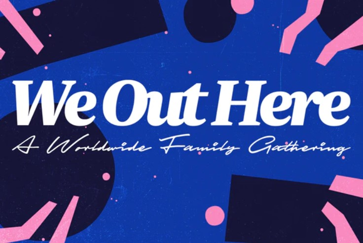 we out here festival logo