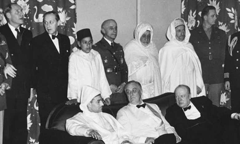 Le Matin - La Conférence d'Anfa de 1943, une étape décisive dans le  processus d'indépendance du Royaume