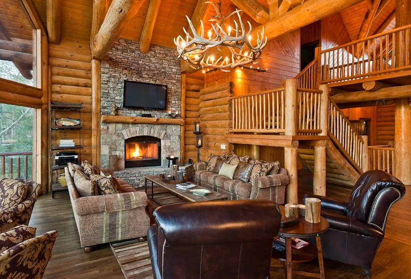 27 Dream Log Cabin Interiors To Spark Your Imagination