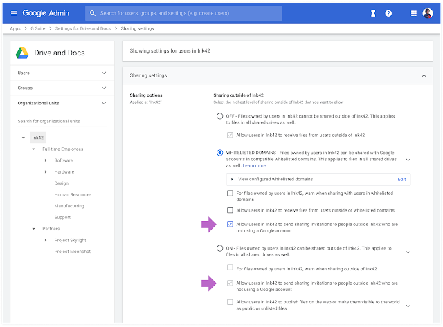 Clientes Google Workspace Business, Starter y Frontline