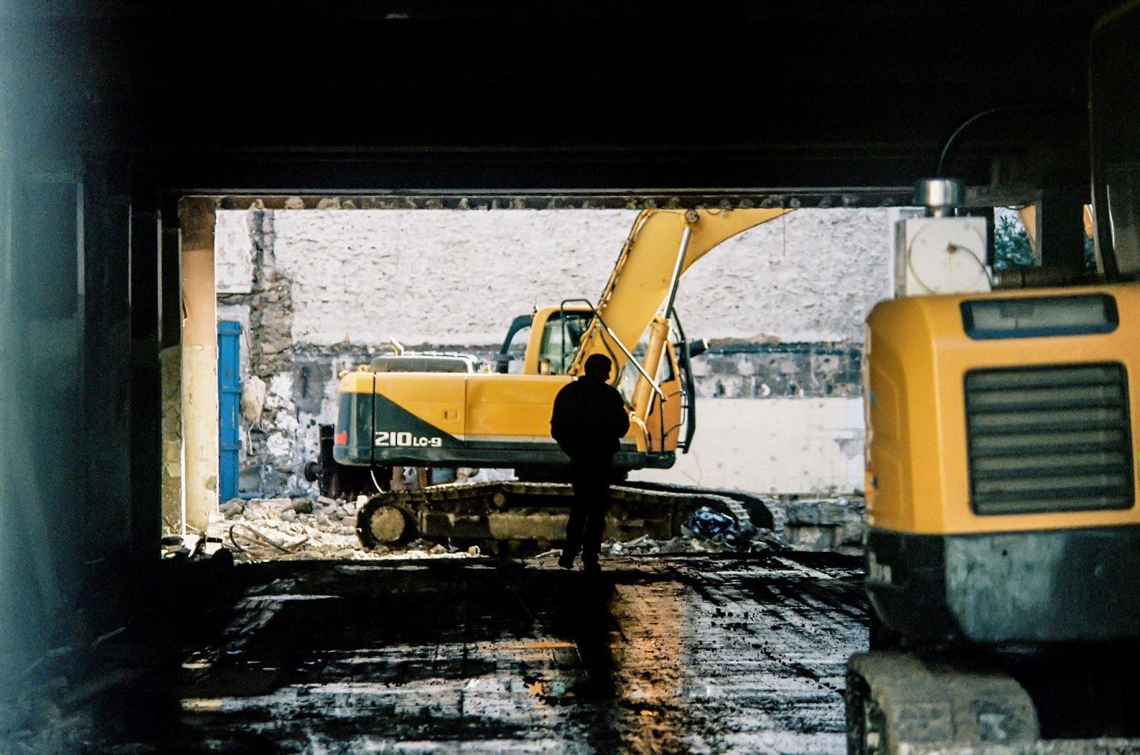 heavy equipment - excavator