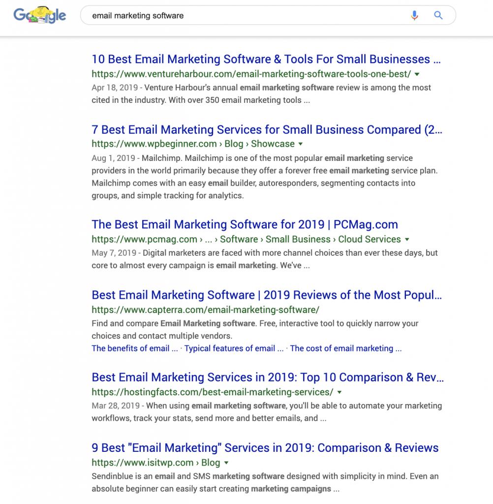 Mục đích tìm kiếm thông tin