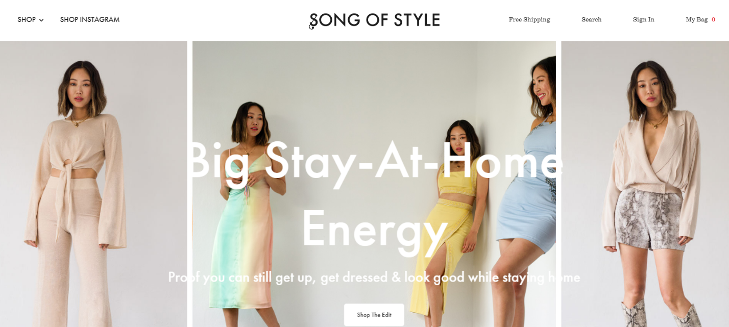 Song of Style Homepage