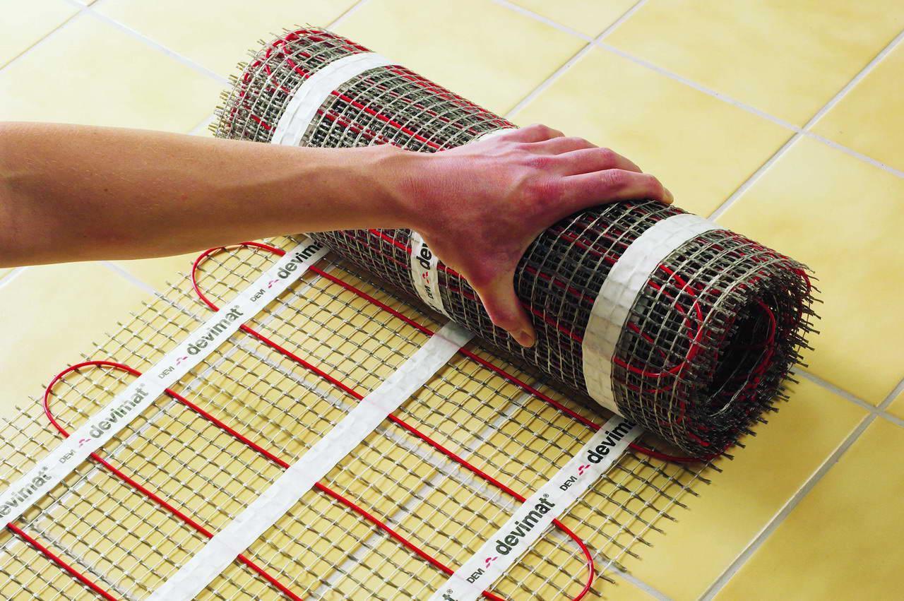 електричний тепла підлога