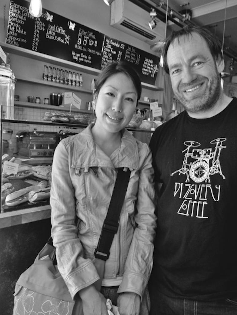 曾獲世界咖啡師大賽冠軍的威林.戴維斯擁有自己的烘焙廠。果力提供