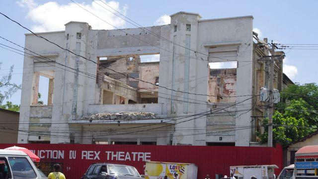 Image result for rehabilitation rex theatre haiti  photos