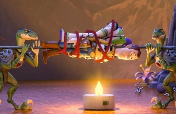 Still from Toy Story That Time Forgot