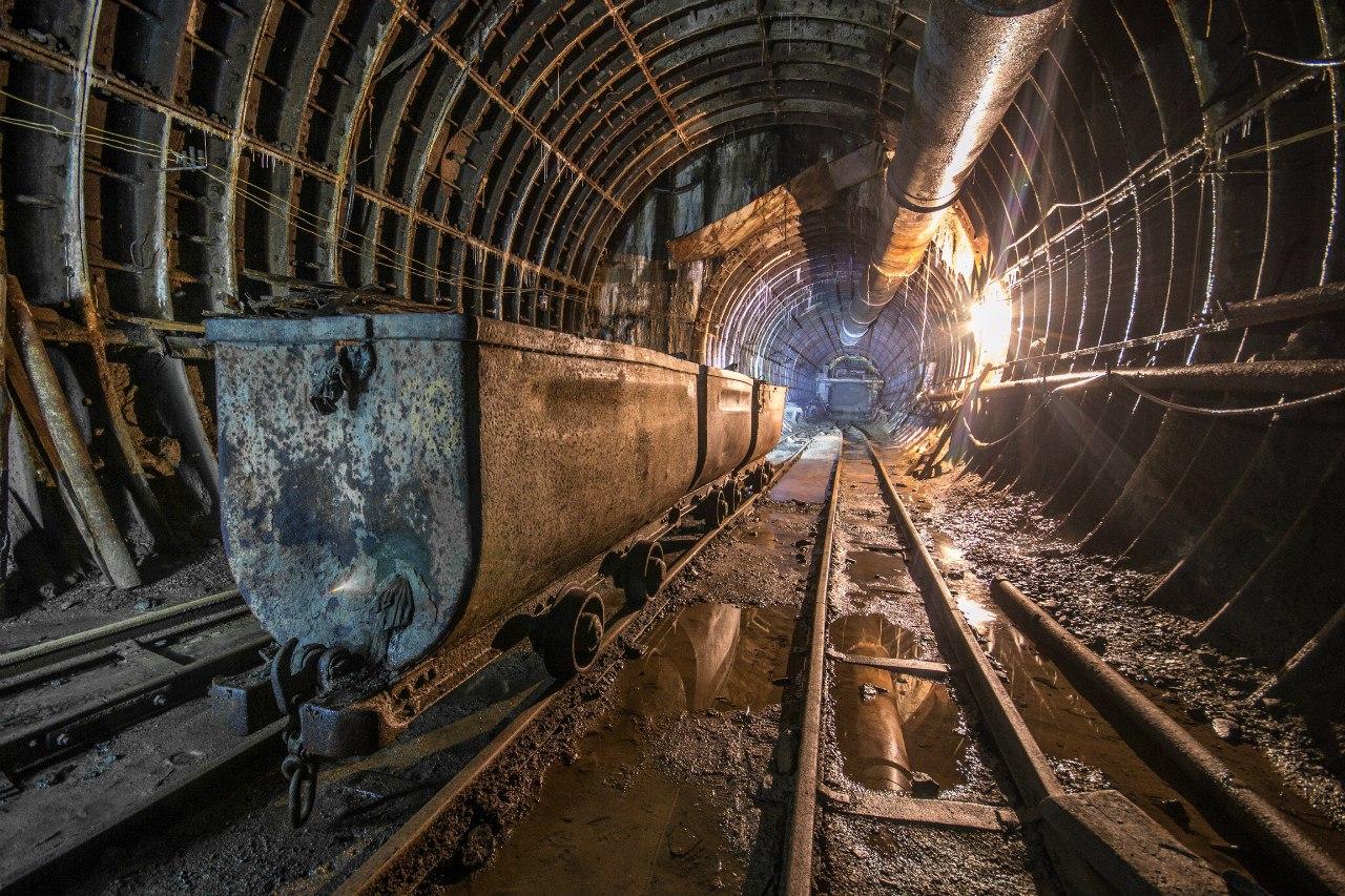 устройство рельсового пути в шахтах