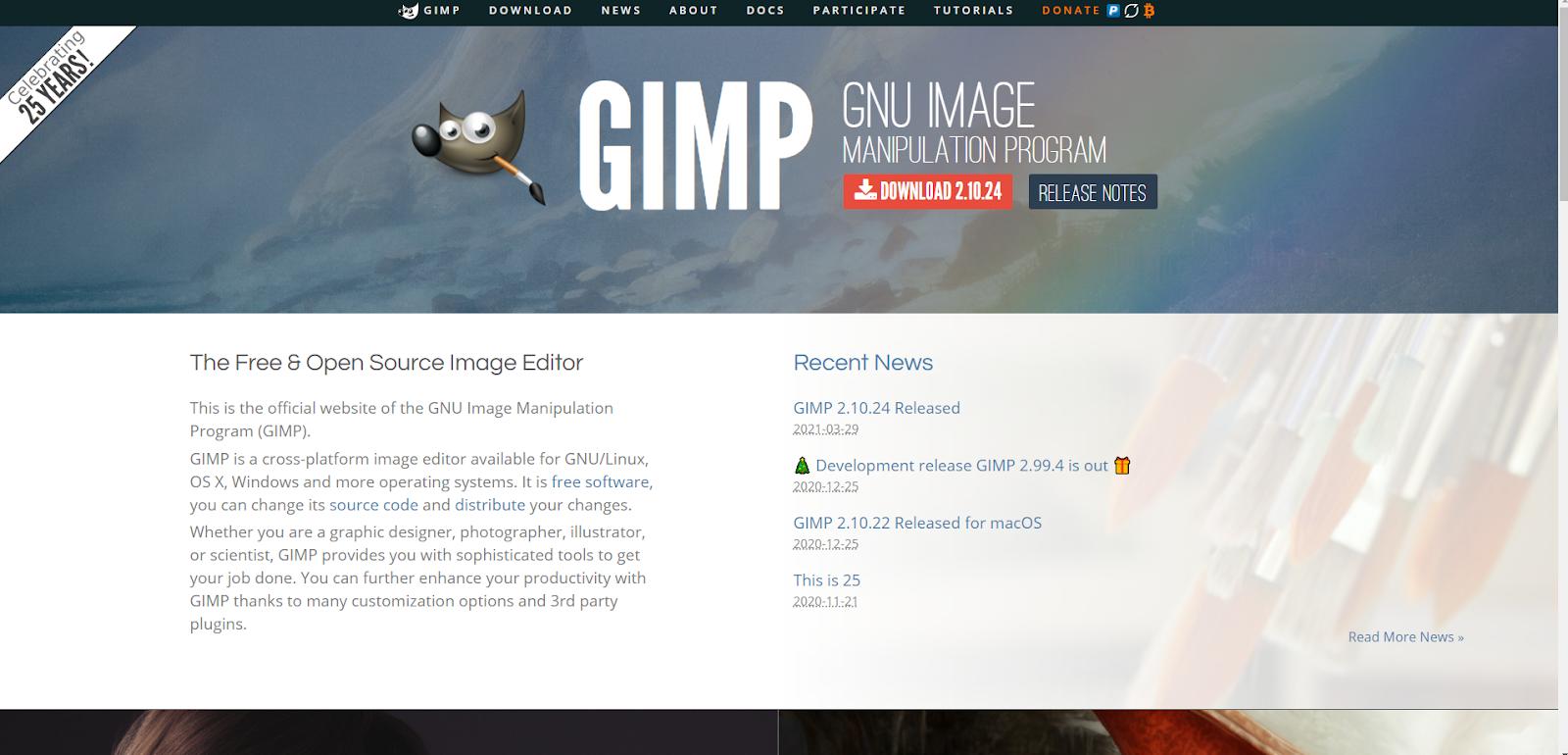 Gimp Free Graphic Design Software