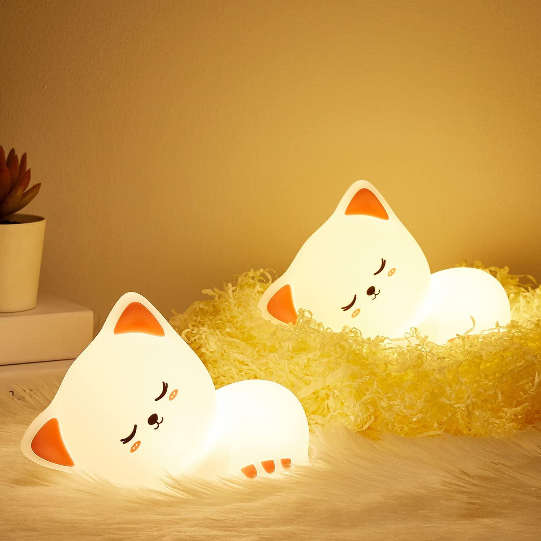 cat lamp sleep companion