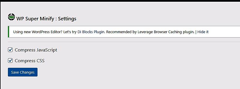 WP Super Minify Plugin