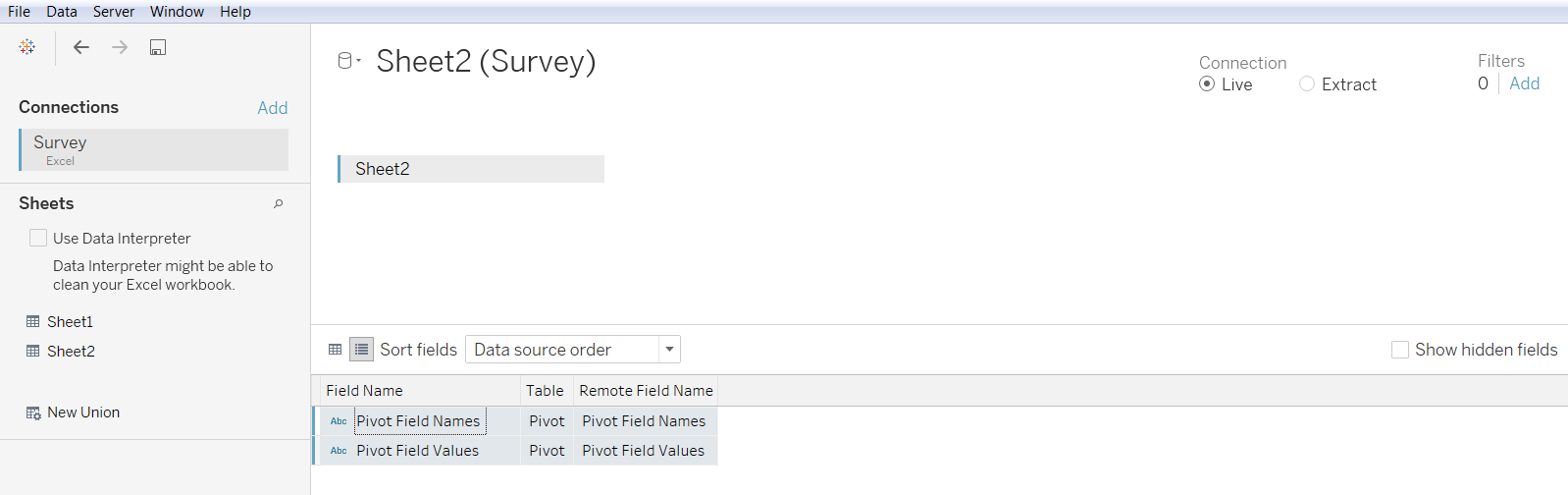 Using Pivot in Tableau 33