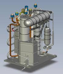 Устройство газового теплового насоса ROBUR