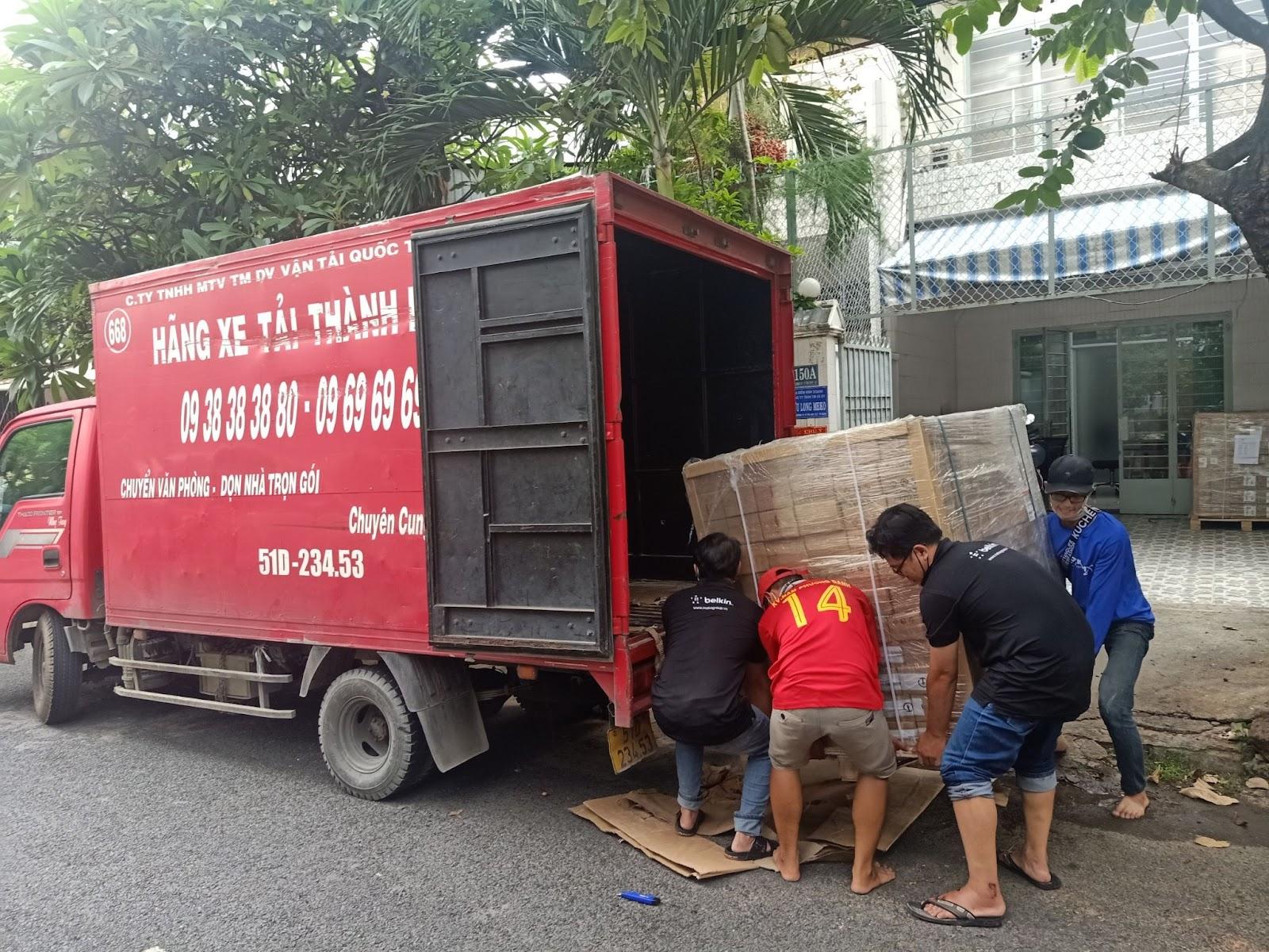 Thùng carton chuyển nhà quận 10 Thành Hưng