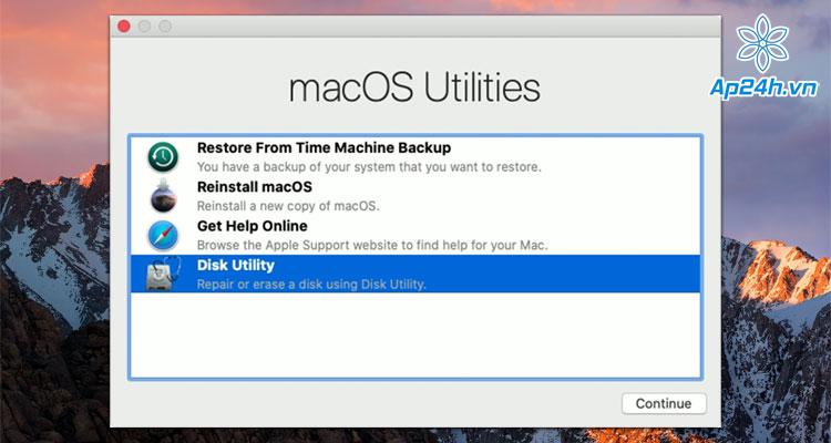 Sua MacBook bi loi thu muc cham hoi