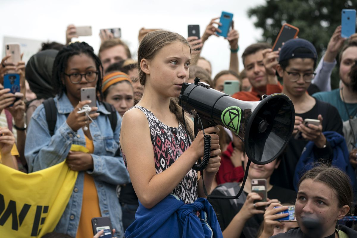 Image result for greta thunberg climate strike speech