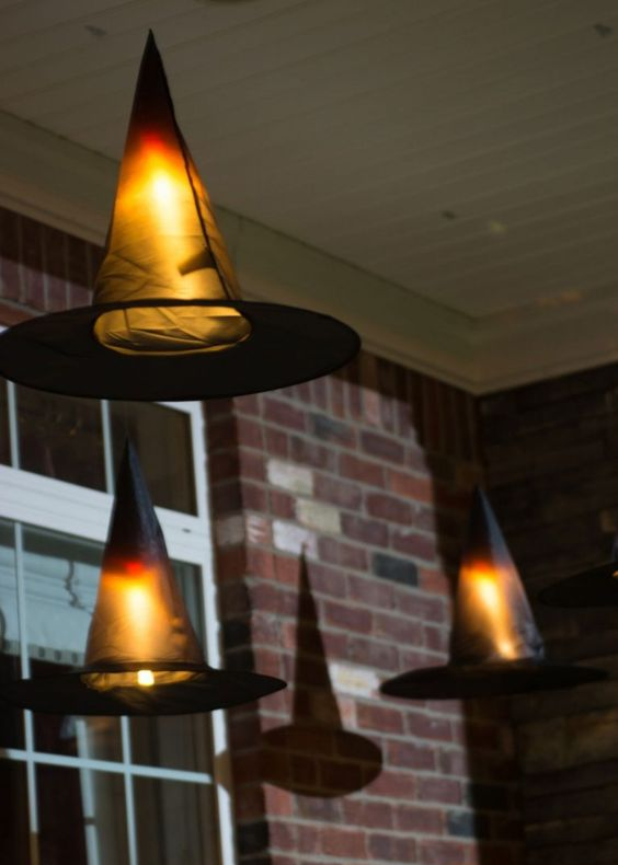 witch hat lights