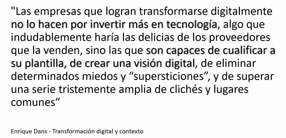 Transformación digital, el nuevo reto el Project Manager