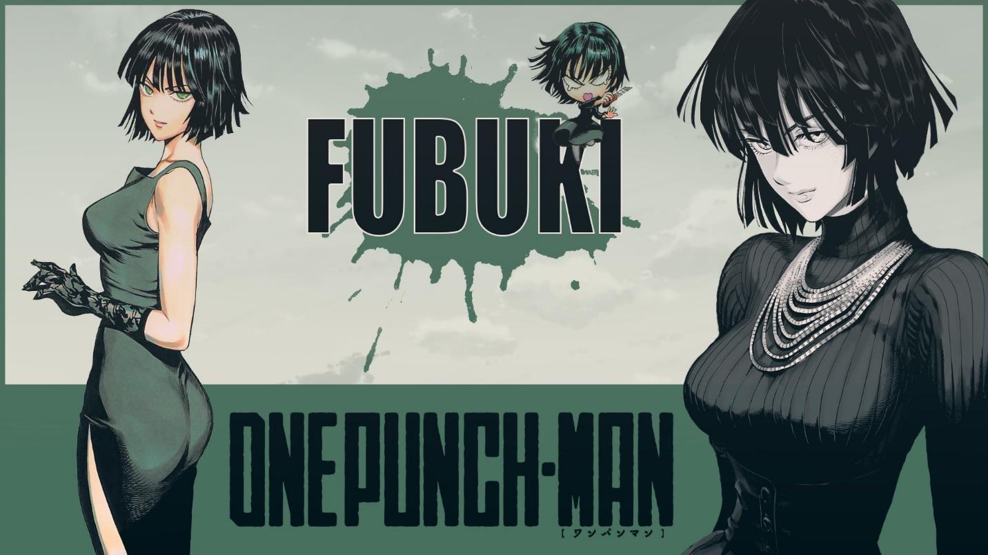 Anime Girls One Punch Man Fubuki Green Eyes 2D Short Hair Green Hair Green Dress Wallpaper - Resolution:1920x1080 - ID:488747 - wallha.com