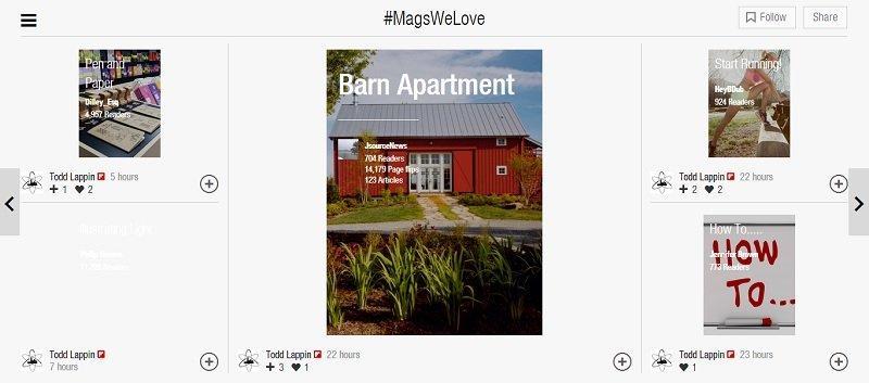 #MagsWeLove in Flipboard