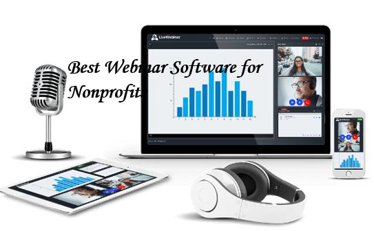 blog banner for best webinar software for non-profits
