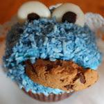 Sesamstraßen-Cupcakes
