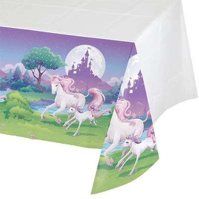 Discount Party Supplies Unicorn Fantasy Decorator - Tablecover