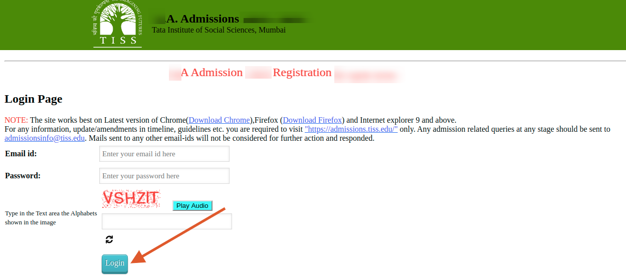 TISS BAT 2021 Application Form Status