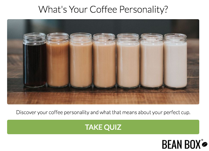 What's your coffee personality? quiz cover
