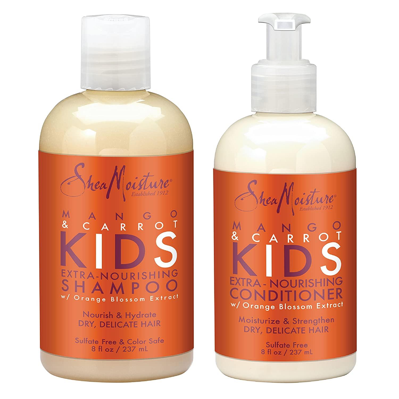 SheaMoisture Mango and Carrot Kids' Extra-Nourishing Shampoo and Conditioner
