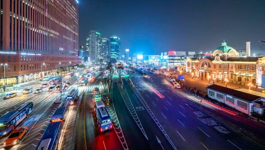 seoul city streets