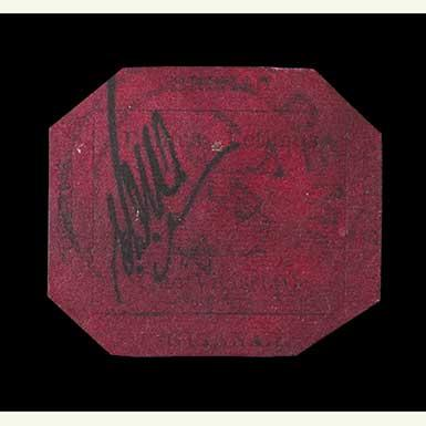 The British Guiana 1-Cent Magenta Stamp | Sotheby's