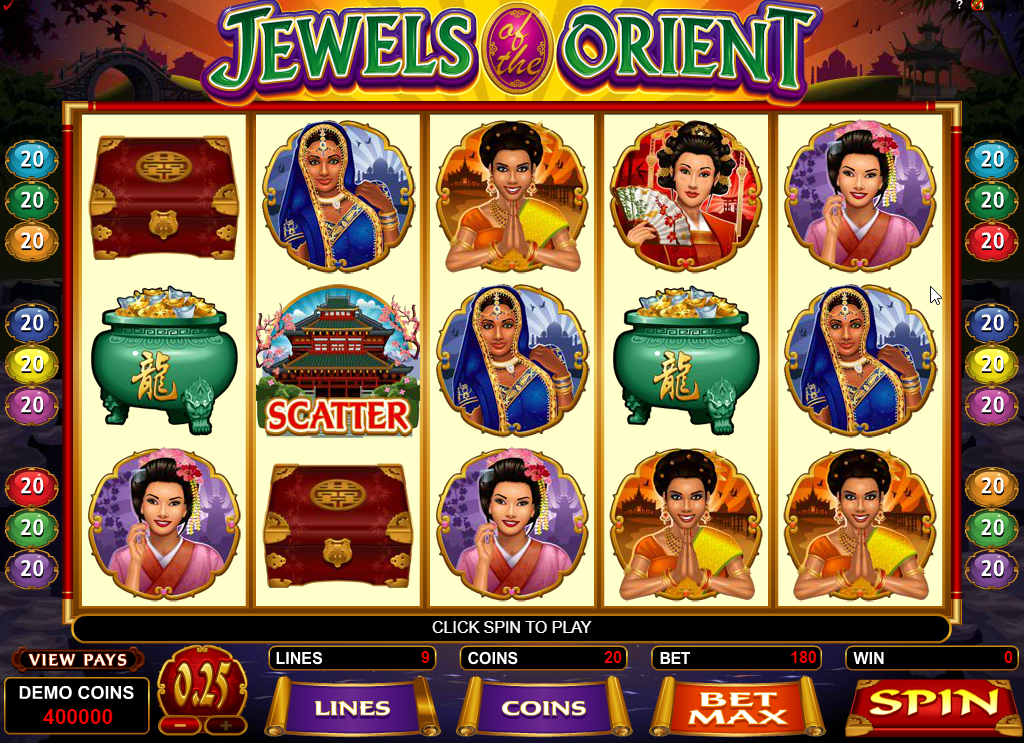 Jewels of the Orient Slots Game Review