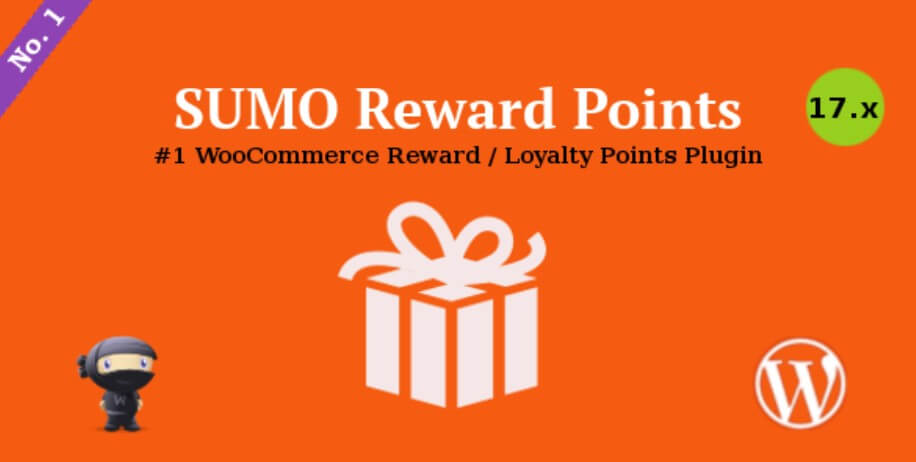 Screenshot of the Sumo rewards plugin logo and uses