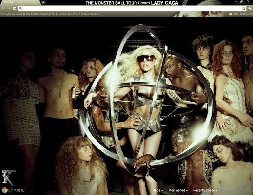 themes  7 Lady Gaga Themes for Google Chrome