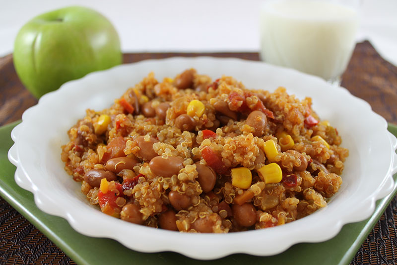 Zesty Quinoa Chili