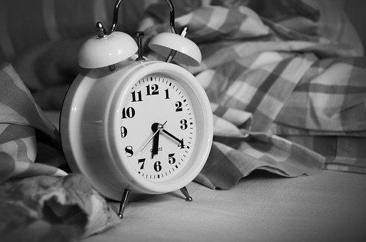 Alarm Clock, Stand Up, Time Of, Sleep