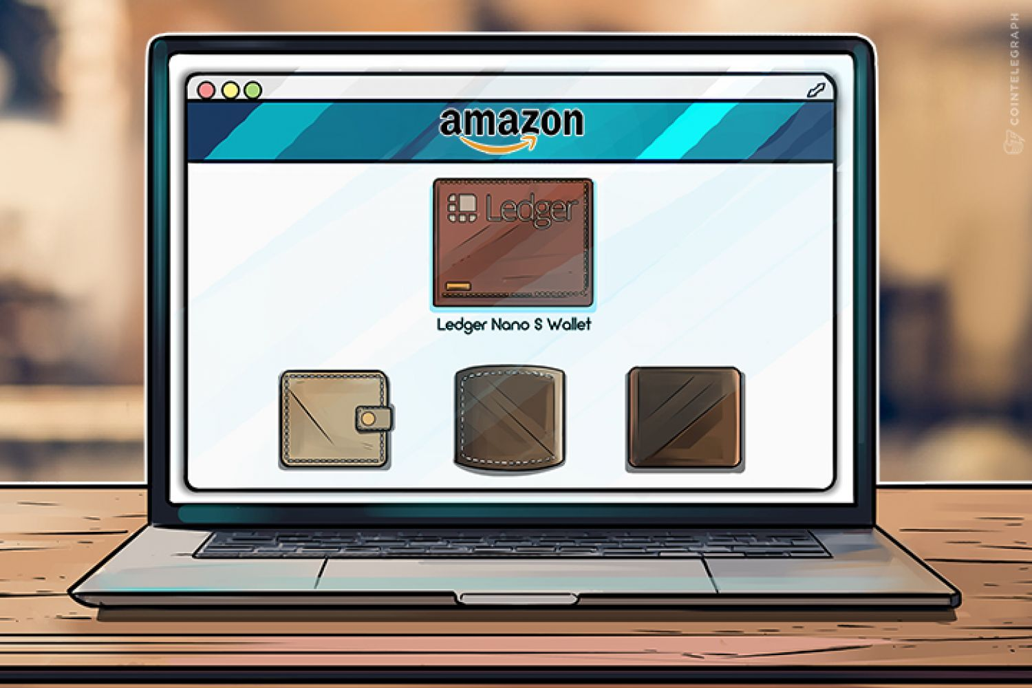 Hardware wallets on Amazon