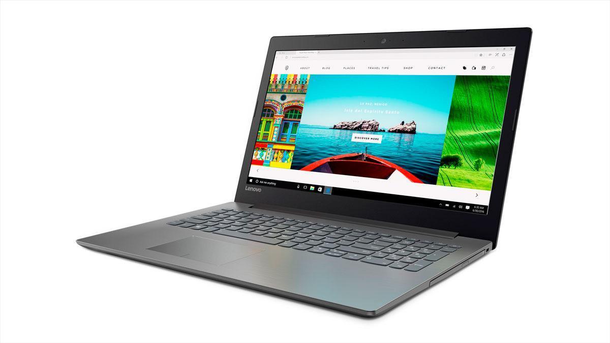Фото1  Ноутбук Lenovo IdeaPad 320-15 Onyx Black (81BG00QHRA)