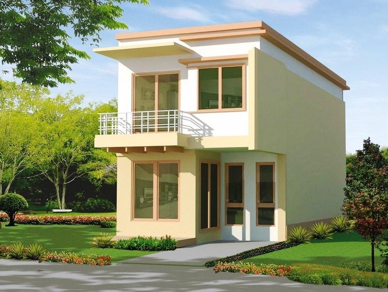 Thiết kế nhà 2 tầng nông thôn đơn giản